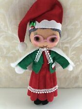 More details for mrs clause felt doll