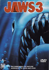 JAWS 3 Dennis Quaid DVD R4 - PAL