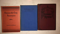 3 Vintage Religious Books From Early 1900's