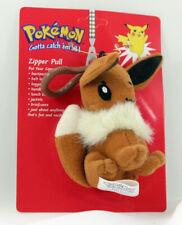 POKEMON PLUSH ZIPPER PULL EEVEE NEW