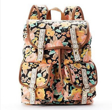 NWT Candie's Backpack Amy Floral Crochet Girls Woman Handbag Tote NEW Cat Rescue