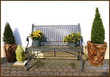 GARTEN Übertopf HOLZ Blumen Pflanztopf Deko 2-er Set massiv Holzkübel  *NEU*