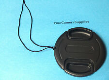 LENS CAP  DIRECTLY TO YOUR CAMERA : SONY DSC-HX1 HX 1 DSCHX1 + HOLDER/KEEPER