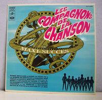 """33 tours COMPAGNONS DE LA CHANSON Disque Vinyle LP 12"""" MAXI SUCCES EMI 340395"""