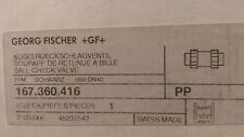 New listing Gf Type 360 Ball Check Valve, 50mm, Socket Fusion P/N 167360416