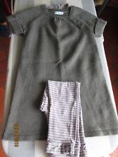 Ensemble 3 pièces legging robe vertbaudet 36 mois  / 3 ans
