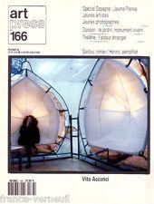 Revue Art Press ArtPress Art Contemporain Fevrier 1992 N°166 Vito Acconci