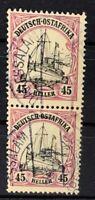 Deutschland Deutsche Kolonien Deutsch-Ostafrika 2x Nr. 36 gestempelt