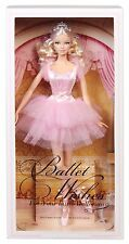 NEW Mattel Barbie Collector Ballet Wishes Doll