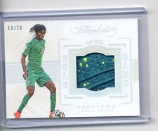 GERVINHO 2016 PANINI FLAWLESS SOLE OF THE GAME SHOE 10/20 HIS JERSEY NUMBER 1/1