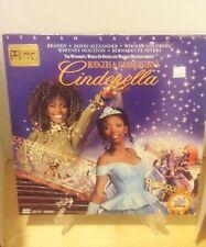 Rare Laserdisc - Whitney Houston And Disney Presents Cinderella - Brandy Whoopi