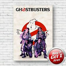 Ghostbusters 1984 Film Movie Poster A4 Un-Framed Art Print V5