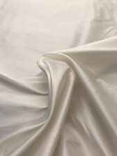 Valentine Ivory REAL Silk Fabric BY THE YARD