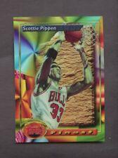 1993-94 Topps Finest Refractor Scottie Pippen Chicago Bulls HOF