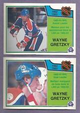 1983-84 OPC O-PEE-CHEE 1982-83 NHL Leader Set