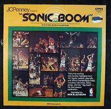 SEATTLE SUPERSONICS Sonic Boom 1978-1979 World Champions BASKETBALL LP *SEALED*