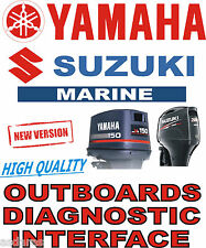 YAMAHA SUZUKI OUTBOARD USB YDS SDS boat diagnostic kit cable interface