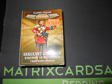 Dysopian Legions Kingdom of Britania sergeant and officer-Matrix Cards and Games