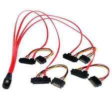 StarTech SAS808782P50 50cm Internal Serial Attached SCSI Mini SAS Cable- SFF8087