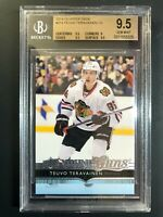 2014-15 Upper Deck Teuvo Teravainen Young Guns Rookie BGS 9.5