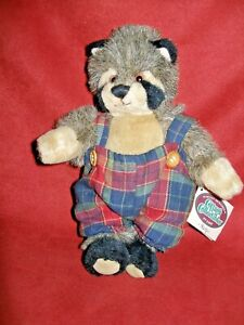 Cottage Collectibles 1995 Lorraine Ricky Raccoon with Tags as is