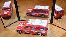 Land Rover, Burago ancienne Made in italy, état de jeu correct,