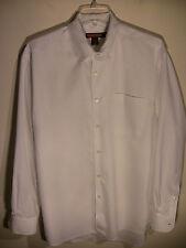 BULLOCK & JONES San Francisco Men's White Button Down SHIRT Medium