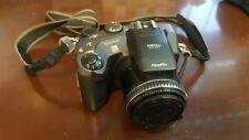 Fujifilm FinePix S Series S602 Zoom 3.3MP Digital Camera - Black & Metallic gray