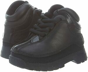 NEW TIMBERLAND TODDLING EURO DUB BLACK TODDLERS SIZE 3 (10438)