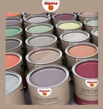Alpina 2,5 L Feine Farben, Edelmatte Wandfarbe für Innen, hoch ergiebig Farbwahl