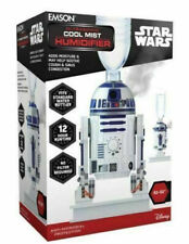 Star Wars R2D2 Personal Ultrasonic Cool Mist Humidifier by Emson New!!