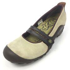 MERRELL Plaza Bandeau Women's Beige Bumper Toe Mary Jane Shoes Size 8