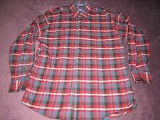 MENS PENDLETON CANTERBURY CLOTH PLAID SHIRT SIZE LARGE PERFECT SHAPE