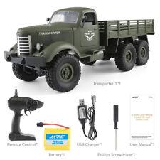 JJR / C Q60 1/16 2,4G 6WD RC Auto Armee Truck Offroad Militär Crawler Spielzeug