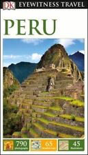 DK Eyewitness Travel Guide: Peru Tour Guide Book (2016) Most Recent Edition