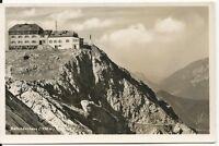 Ansichtskarte Berchtesgaden/Watzmann - Watzmannhaus - gel. 11.9.52- schwarz/weiß
