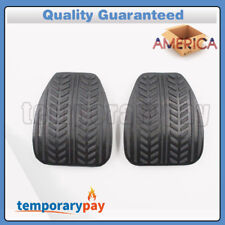 OEM 2X Brake or Clutch Pedal Pad Cushion Rubber For Ford Mustang 94-04 F4ZZ2457A