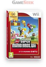 NEW SUPER MARIO BROS (SELECTS) - NINTENDO WII BRAND NEW FREE DELIVERY