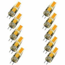 10pcs Dimmable COB LED Light Bulb G4 6W AC DC 12V Warm White Replace Lamp SE