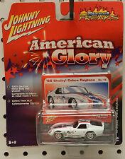 AMERICAN GLORY 1965 FORD SHELBY DAYTONA COBRA RACE CAR 65 JL JOHNNY LIGHTNING