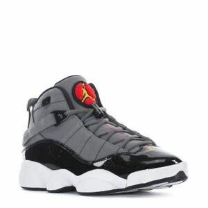 "Jordan 6 Rings ""Cool Grey"" Light Graphite/Orange Peel-Sport Red-Blk (322992 022)"