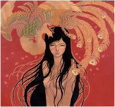 AUDREY KAWASAKI Mizuki 2015 print poster japanese art girl nude portrait asian