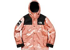 Supreme x The North Face Metallic Mountain Parka Rose Gold Size M