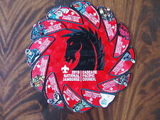 Cascade Pacific Council - 2013 National Jamboree Dark Horse Jacket Patch