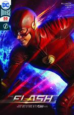 DC Comics Flash #50 TV Show Poster Silver Foil Variant 2018 SDCC Exclusive