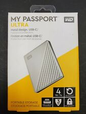 Western Digital My Passport ULTRA  4TB External HDD-Sealed #255