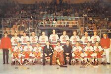 OH Dayton Gems Hockey Club 1966-67 International Hockey League 6x9 postcard