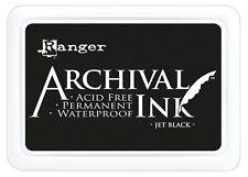 Ranger Archival Ink Jet Black Stempelkissen