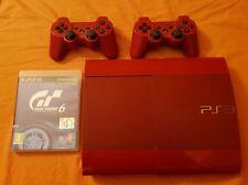 Console Sony Play Station 3 rossa 250gb limited edition ultra slim + gioco