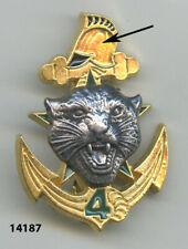 Insigne  troupes de marine , 4 /  6  Rgt. du Génie